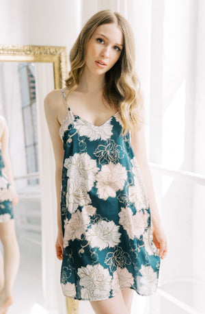 Brooklyn Floral Slip Dress (Junebug)
