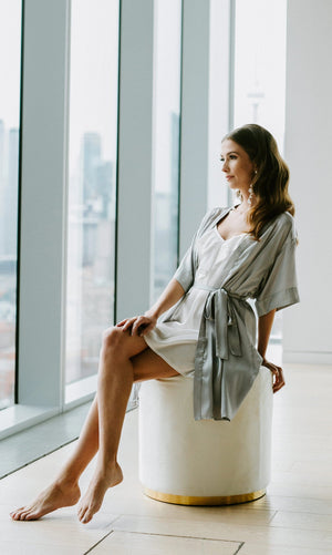 Luxe Robe (Chic Gray)