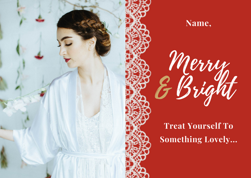holiday gift loungewear and bridal wear in Toronto