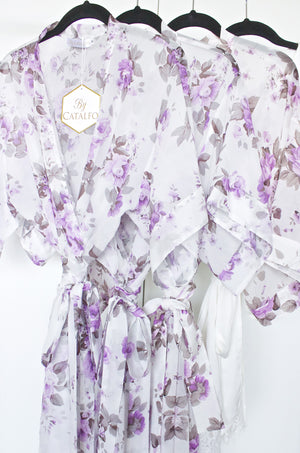 French Lilac Robe