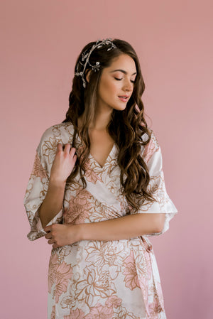 by catalfo brooklyn floral print robe for bridesmaids