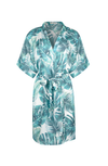 palm print bridesmaid robe from by catalfo in toronto