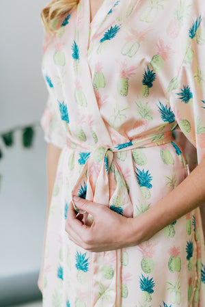 Paradiso Pineapple Robe