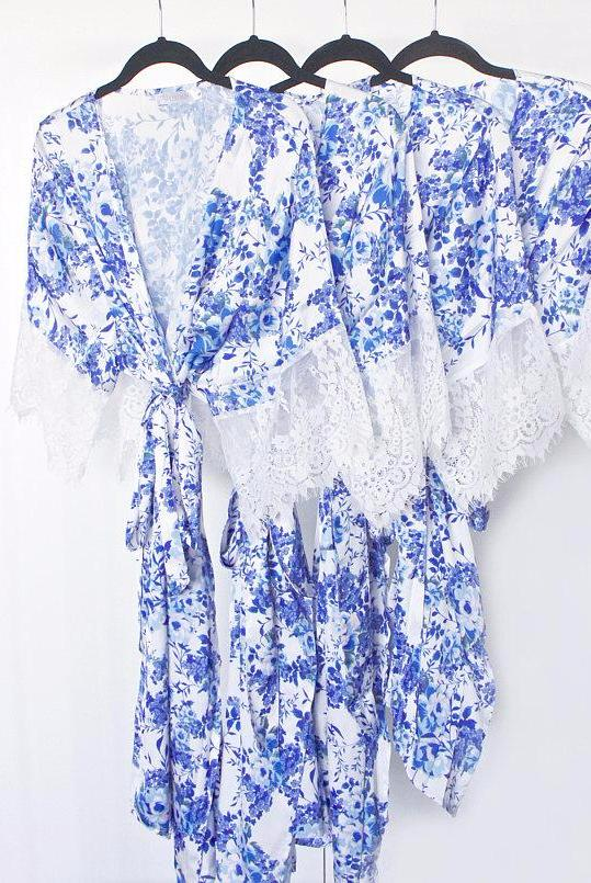 'Something Blue' Robe
