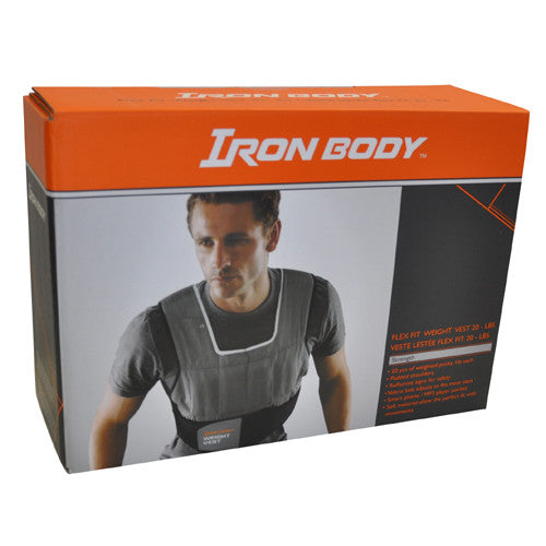 Flex Fit Weight Vest - 20lb