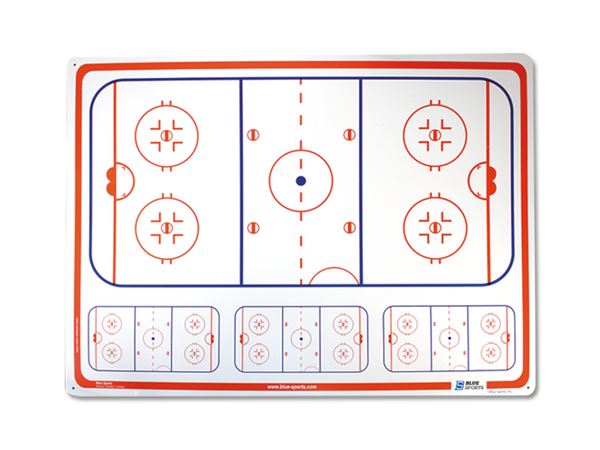 "Hockey Dry Erase Board 24""X32"""