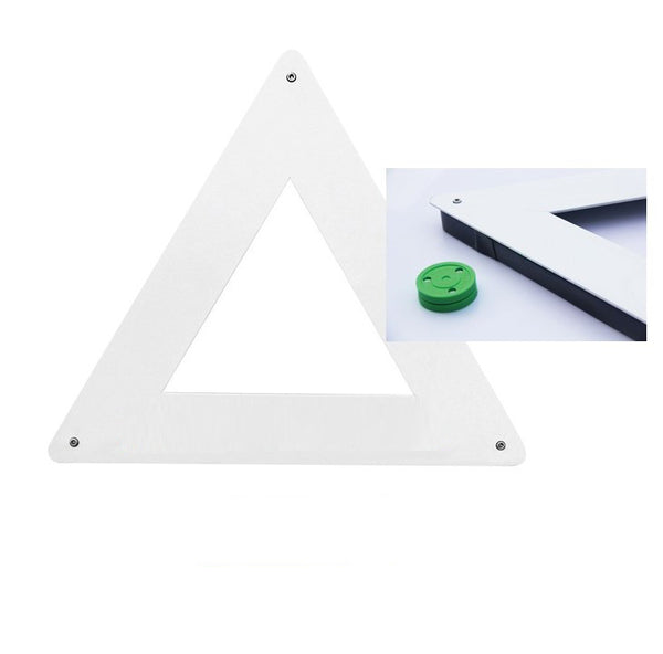 Hockey Triangular Passer Rebounder