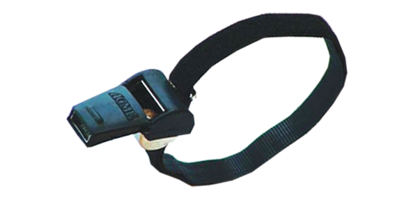 Hockey Coach Glove Grip Whistle