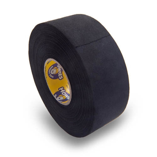 "Howies 1.5"" Black Cloth Hockey Tape (18/cs)"