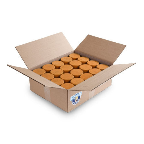 10 oz Weighted Orange Ice Hockey Pucks Bulk