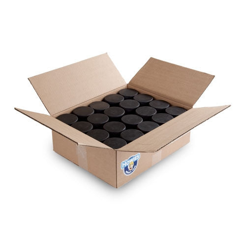 Non-Marking 6 oz Black Hockey Pucks Bulk