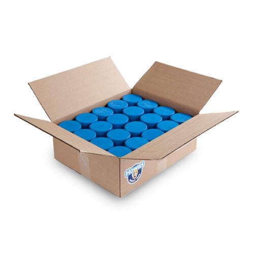 Blue 4 oz Kids Hockey Pucks Bulk
