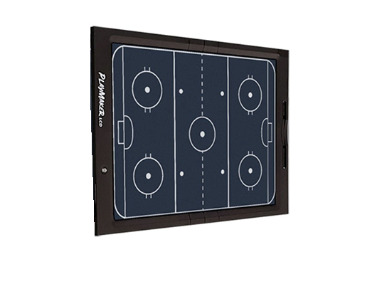 Playmaker LCD Hockey Coaches Board with Suction Cups
