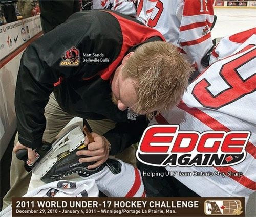 Edge Again EA-4MG Manual Goalie Skate Sharpener