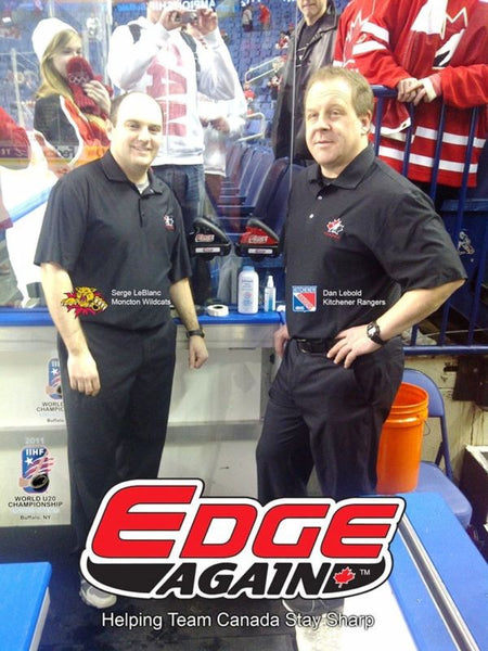 Edge Again EA-4MH Manual Player Hockey Skate Sharpener