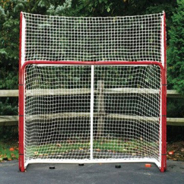 EZ Goal 10' x 6' Hockey Net Backstop Folded Sides