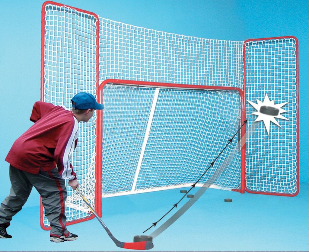 EZ Goal 10' x 6' Hockey Net Backstop Shooting