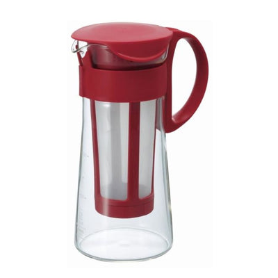 Cold Brew Coffee Pot Red 5 Cups 600ml