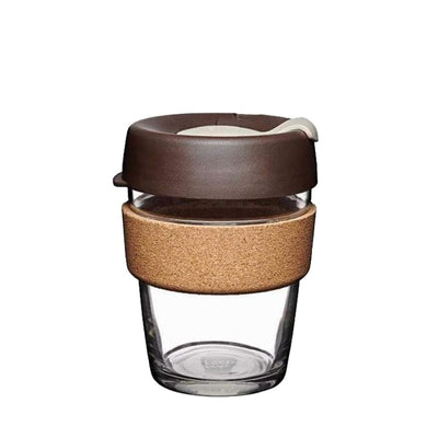 Cork Glass 12oz 340ml - Almond