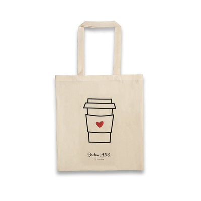 Dritan Alsela Coffee to-go Canvas Bag