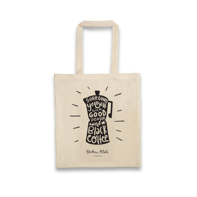 Dritan Alsela Moka Pot Canvas Bag
