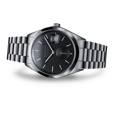 NORDIC QUARTZ 39mm, Steel, Charcoal