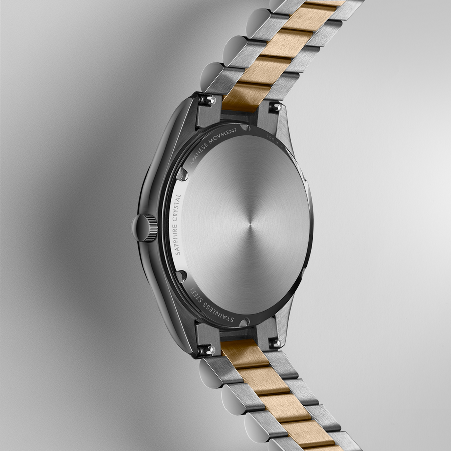 NORDIC QUARTZ 35mm, Two-Tone, Charcoal
