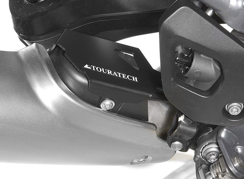 Exhaust Protection Flap, black for BMW R1250GS/R1250GS Adv/R1200GS(LC) /R1200GS Adv(LC) - Touratech