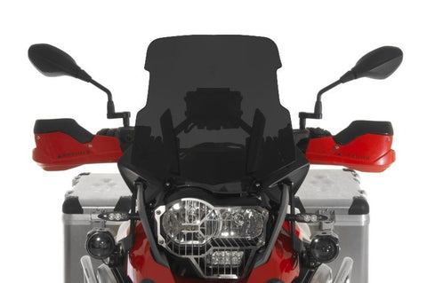 High Windscreen, tinted for BMW R1200GS(2014+)/R1200GS Adv(2014+) - Touratech