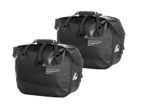 Side bag ENDURANCE Click (pair), black, by Touratech Waterproof