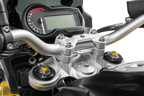 Handlebar Riser Joined, 20 mm, type 45, for BMW F850GS/ F850GS Adv/ F900R/F900XR - Touratech