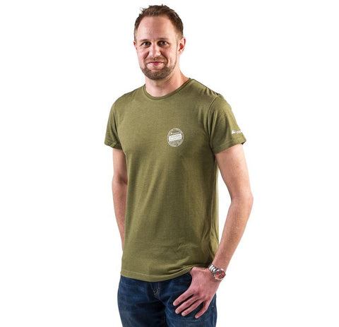"T-Shirt ""Nature"", Men, Green - Touratech"