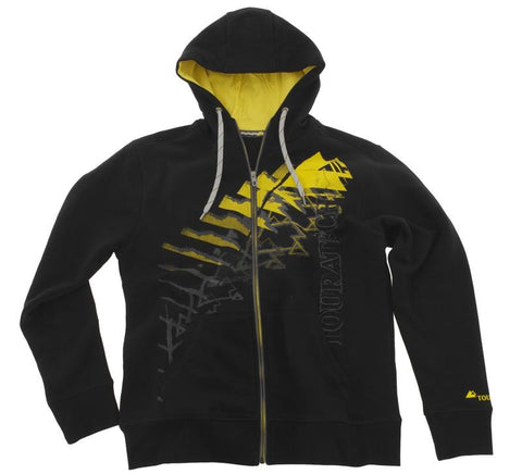 "Mens' Black Sweat jacket ""Triangle"" - Touratech"