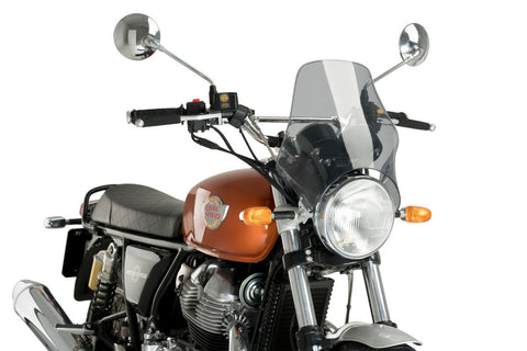 Puig Windscreen for Royal Enfield Interceptor / Continental GT 650