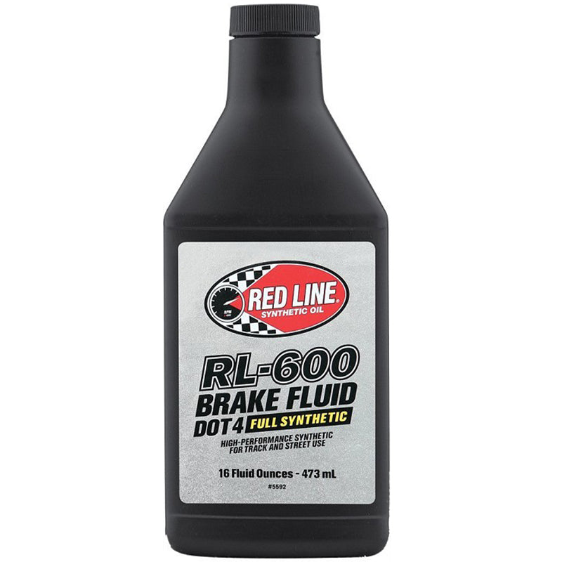 Red Line High Performance Motorsports Synthetic Brake Fluid (DOT4)