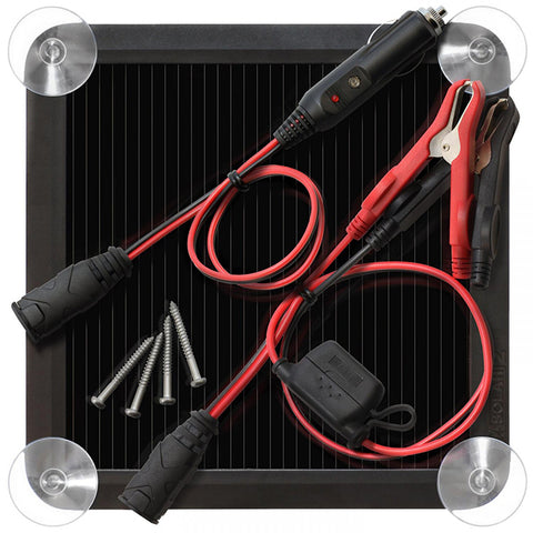 NOCO Solar Battery Maintainer & Charger 2.5W