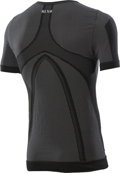 SIXS TS1L T-Shirt Short sleeve round neck jersey SuperLight Carbon Underwear