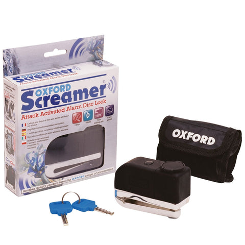 Screamer Alarm Disc Lock - Oxford