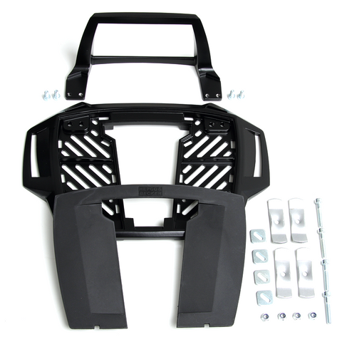 Universal Topcase carrier - Fixed Hinge (Alu Rack) - Bike 'N' Biker