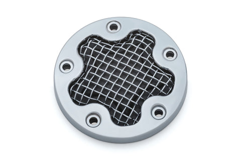 Mesh Timing Cover for Twin Cam - Kuryakyn