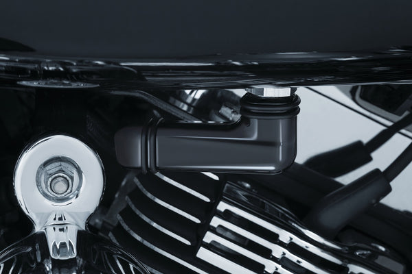 Linear Fuel Line Fitting Covers for Harley-Davidson - Kuryakyn