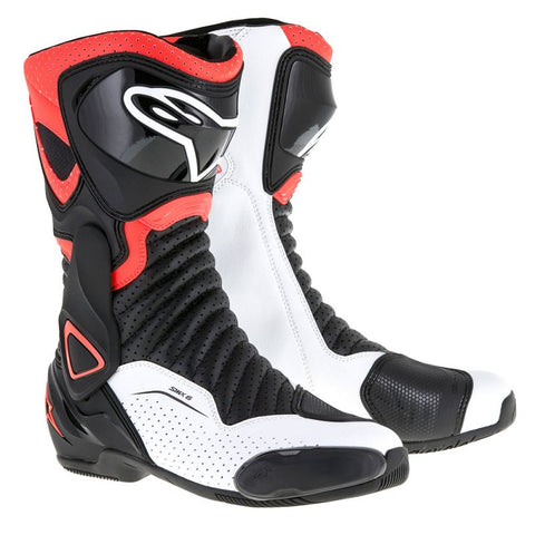 Alpinestars SMX-6 V2 Boot Black/Red/White