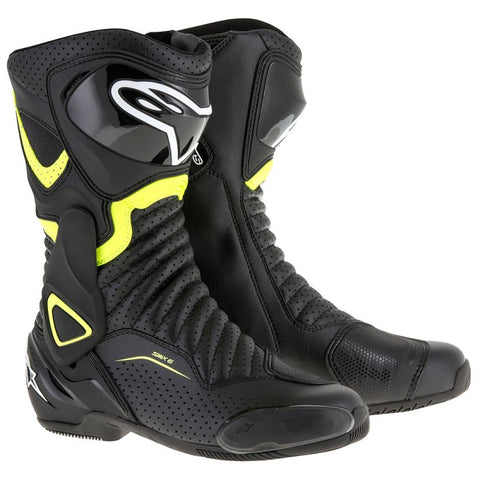 Alpinestars SMX-6 V2 Boot Black/Yellow