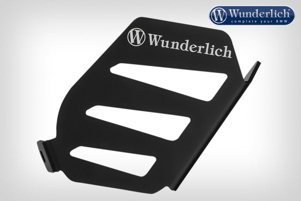 Wunderlich Exhaust Flap Cover - Black