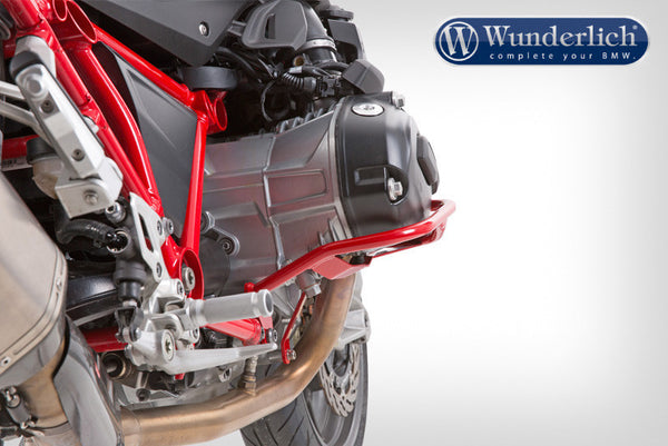 BMW R1200GS Protection - Engine Guard (Red) - Bike 'N' Biker
