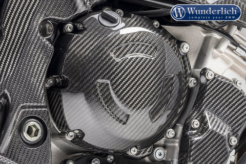 Carbon Clutch Cover for BMW S1000R/RR - Wunderlich