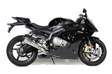 "CT Megaphone Full System w/ 17"" Muffler S1000RR (15-19) and S1000R (17-20) - Brock's Performance"