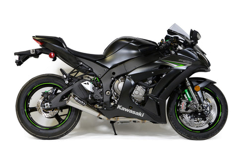 "Alien Head 2 Full System 14"" Muffler ZX-10R (16-20) - Brock's Performance"