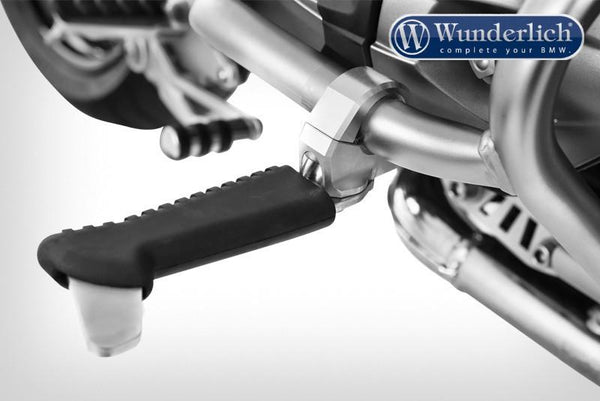 Crash Bar Foot Pegs - Ergonomic and Relaxed Seating - Wunderlich