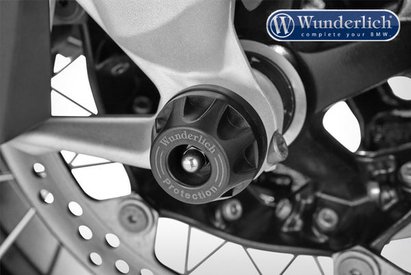 BMW R1200GS Protection - Axle Sliders (Black) - Bike 'N' Biker